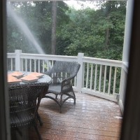 Pressure Washing the House and Porch