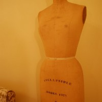 A Vintage Dress Form for the Sewing Craft Room