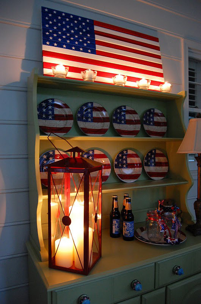 Build a Wood Flag For the 4th of July