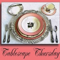 Welcome to the 150th Tablescape Thursday
