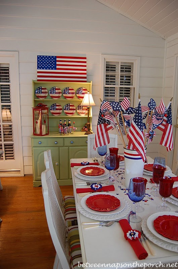 Pottery Barn Flag Tutorial, Make a Wood Flag for 4th of July