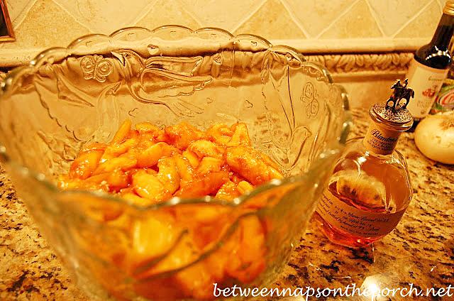 Recipe for Peach Trifle Made with Fresh Peaches