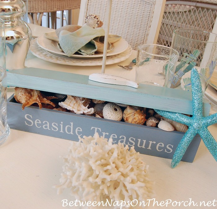 Shell Collection in Seaside Treasures Box