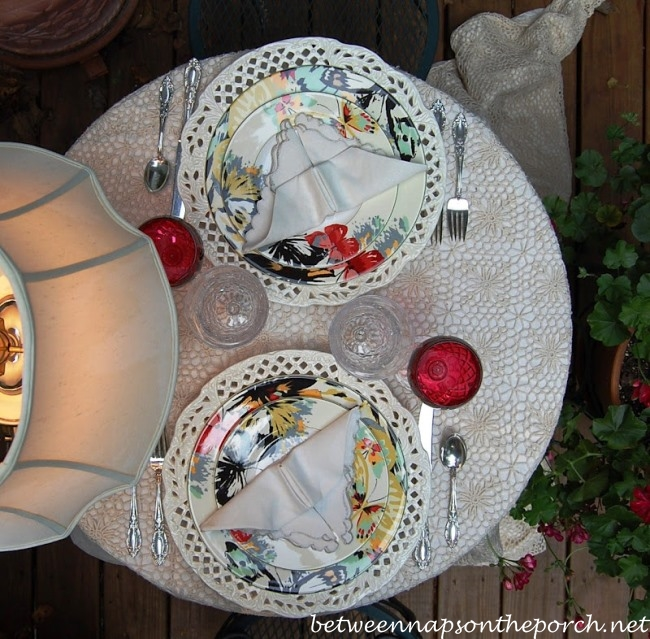 Romantic Tablescape for Two
