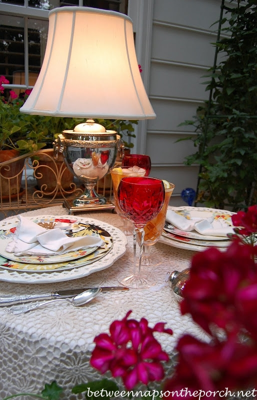 Romantic Table Setting For Two Perfect For Valentine S Day