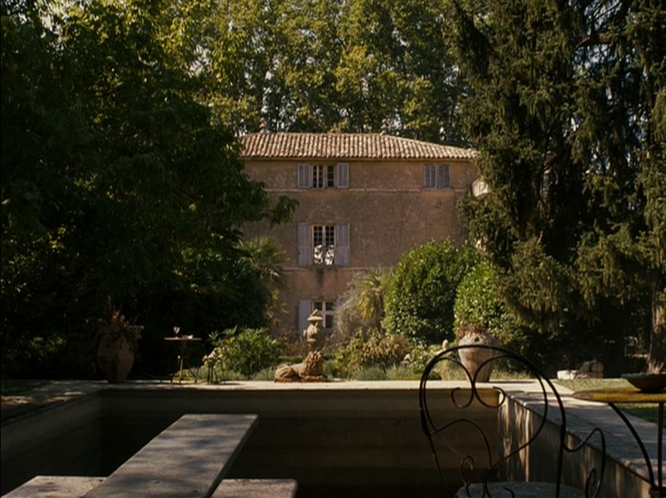 Good year movie dining in provence