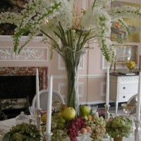 Beautiful Table Setting by Bunny Williams