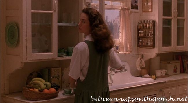 Kitchen New York Apartment in Movie, Green Card 2_wm