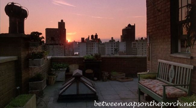 Rooftop Garden in Movie, Green Card 2_wm