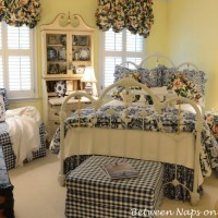 Updates for a Blue and White Guest Room