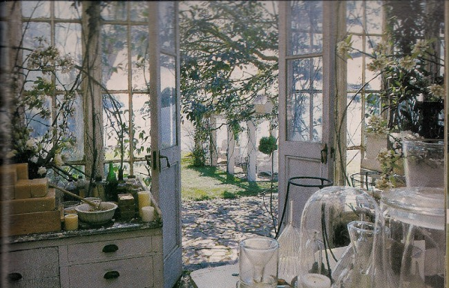 Conservatory in Practical Magic Movie House