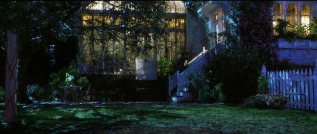 Garden in Practical Magic Movie House