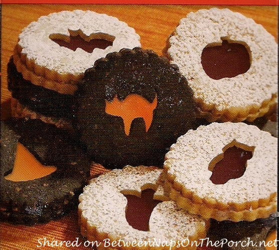 Make Linzer Cookies For Halloween