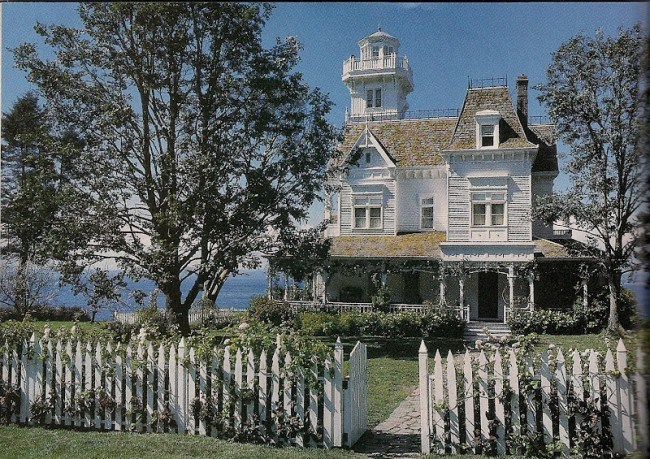Victorian Home in Practical Magic Movie