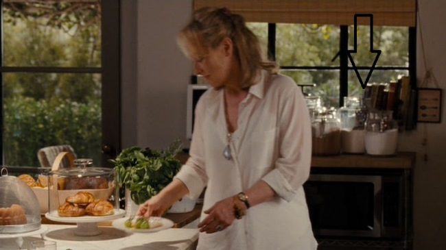 Baking Center in Movie It's Complicated