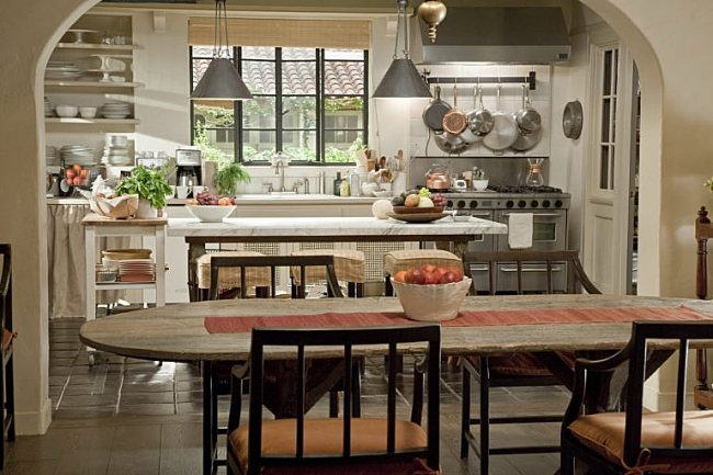 Kitchen in Movie, It's Complicated
