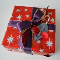 Christmas Mice Ornaments or Present Toppers: A Tutorial