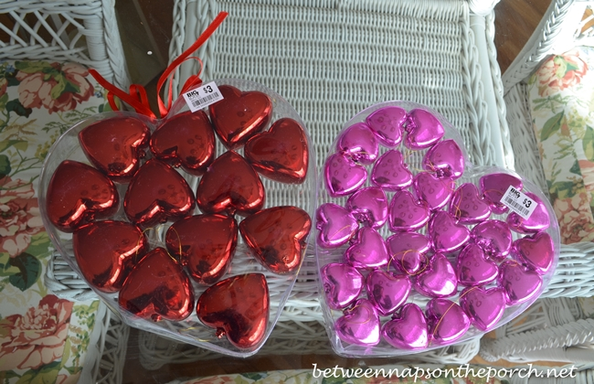 Papier-maché Hearts for Valentine's Day