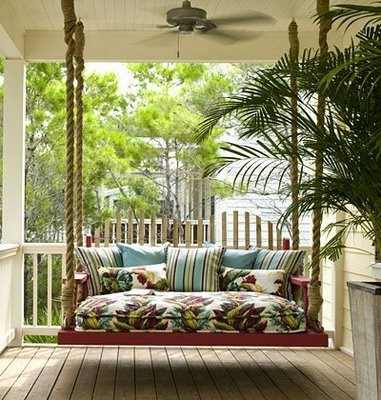 Porch Swing for Sleeping