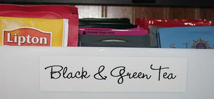 label maker font