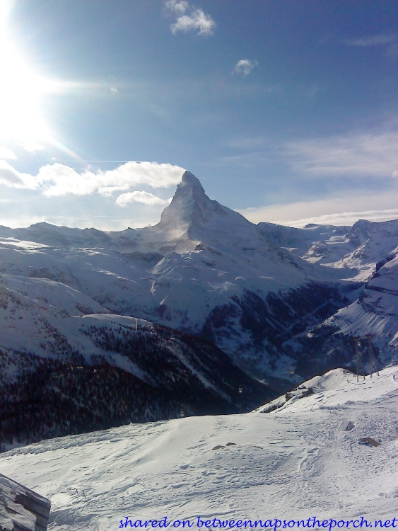 The Matterhorn in Zermatt