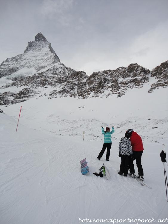 The Matterhorn in Zermatt