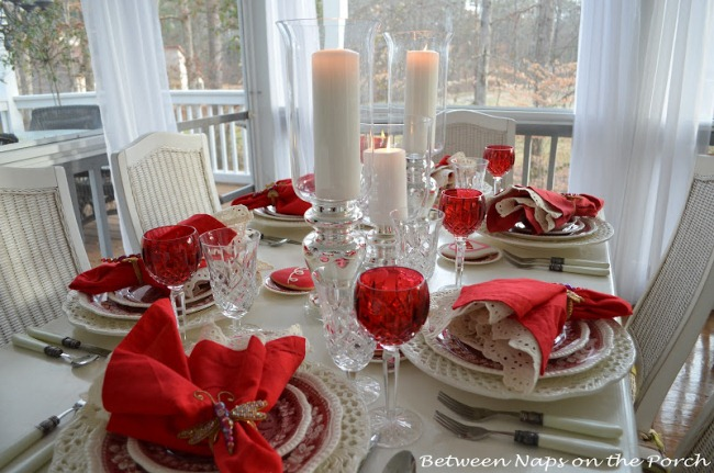 Valentine's Day Tablescapes Table Settings