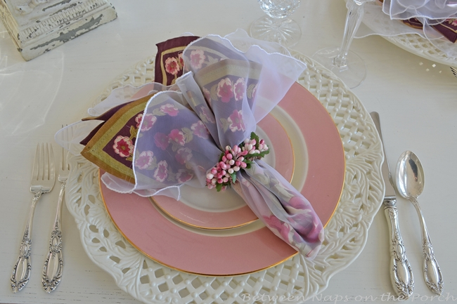 Valentine's Day or Mother's Day Table Setting 05