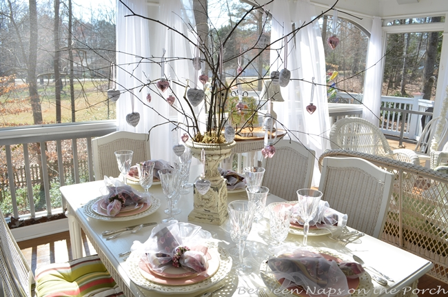 Valentine's Day or Mother's Day Table Setting 11