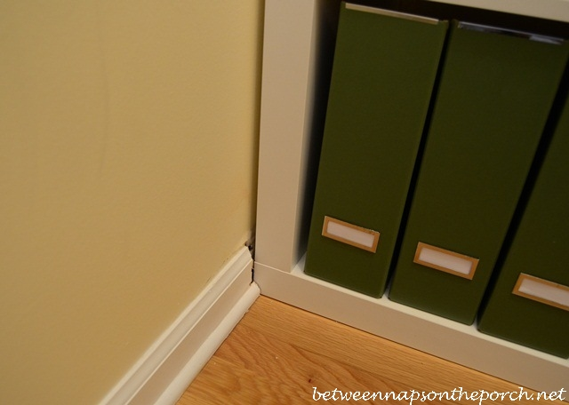 Building an Expedit Inside a Closet