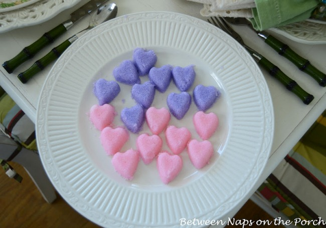 Make Heart Shaped Sugar Cubes