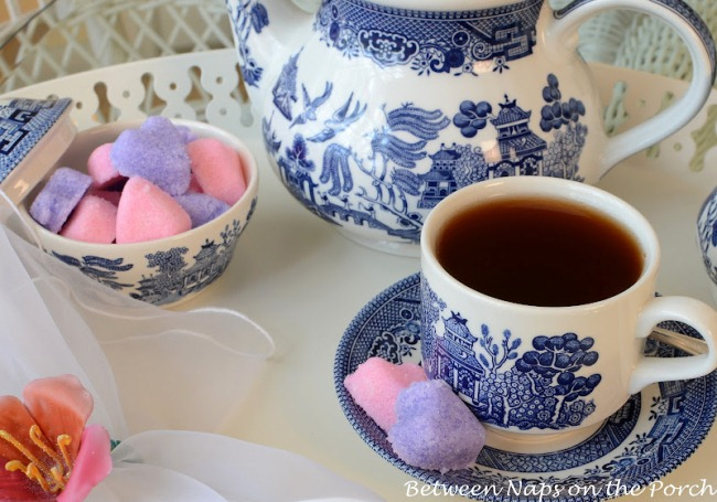 heart tea how to make sugar cubes in any shape for tea parties or special