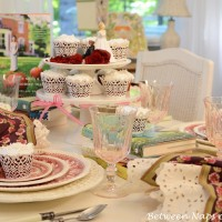 A Whimsical Wedding Themed Table Setting