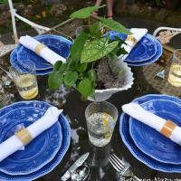 A Secret Garden Tablescape