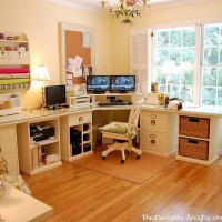 Pottery Barn Bedford Home Office, Craft and Sewing Room