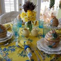 A Springtime Tablescape