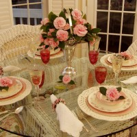 Mixing China Patterns in a Table Setting