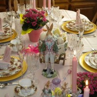 A Lovely Easter Tablescape