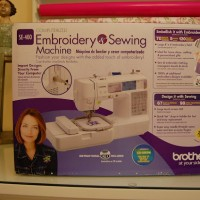 Brother SE-400, Embroidery & Sewing