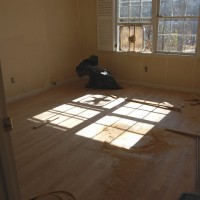 Installing Hard Wood Floors: Part 3