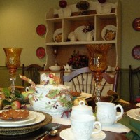 A Beautiful Thanksgiving Tablescape