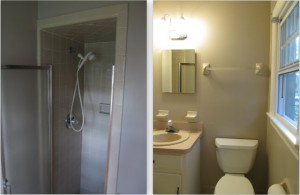 Updated Bath Renovation with American Olean in Shower