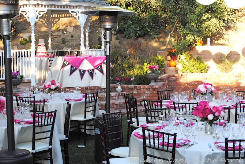 Backup Plans For Your Outdoor Wedding: A Wedding Reception, A Magical Evening