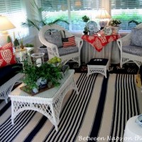 White Wicker for the Traditional Sunroom