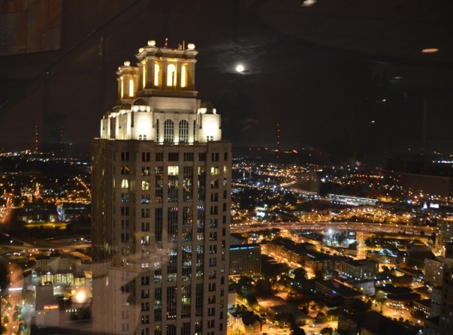 191 Peachtree Tower Building from the SunDial Restaurant atop the Westin Peachtree Plaza Hotel
