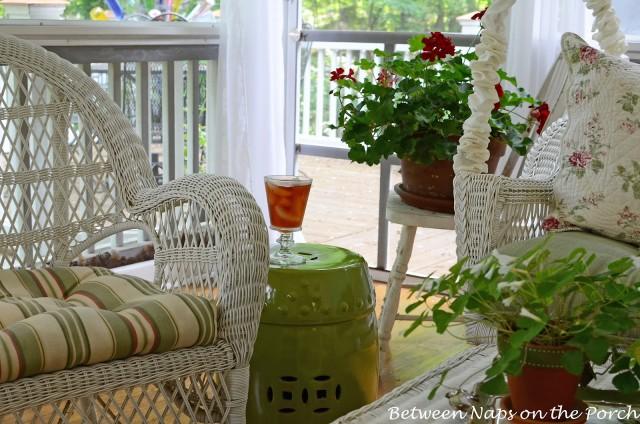 Garden Seat for the Porch