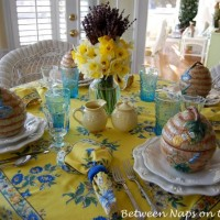 Daffodil-Lavender-Bumble-Bee-Table-Setting1_wm-650x445