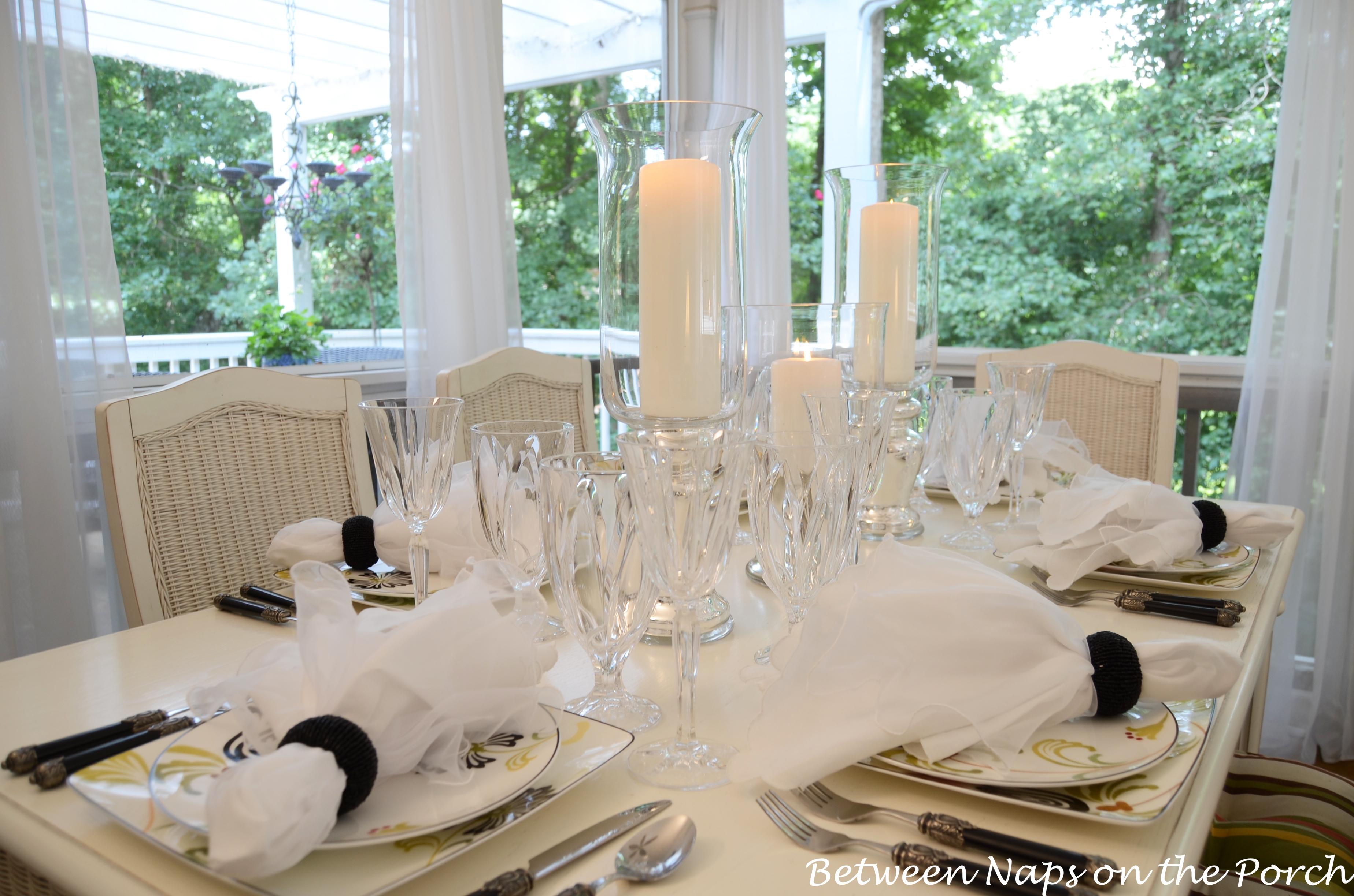 Elegant Table Settings Amazing Elegant Candlelit Summer Tablescape Table Setting Design Ideas