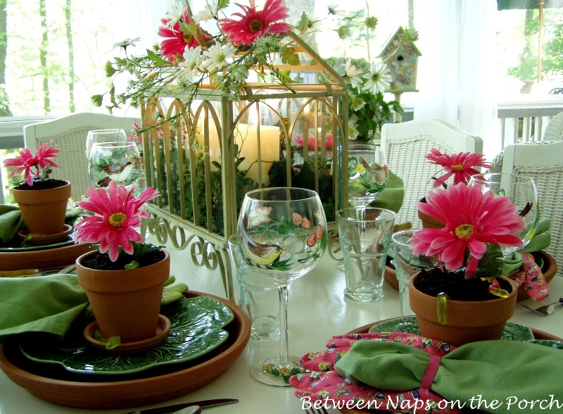 Spring and summer table settings - Summer table setting ideas ...