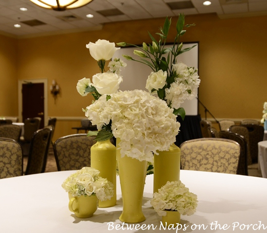 Painted Centerpieces